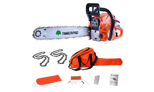 "TimberPro CS-6150 Petrol Chainsaw Review (62cc, 20"")"